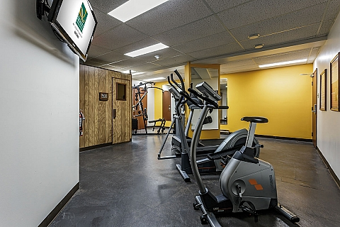 Gym au Quality Inn & Suites Matane